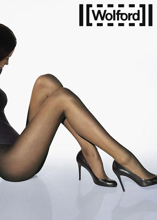 Wolford ulltra sheer matt luxe 9 tights black
