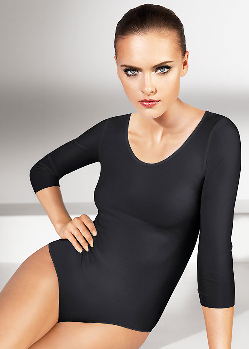 Wolford Pure String Bodysuit black