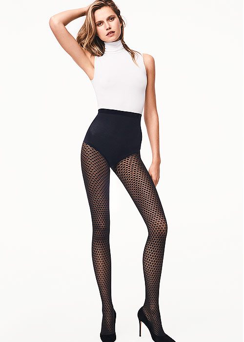 Wolford Autumn Winter 2017 Rhomb Tights