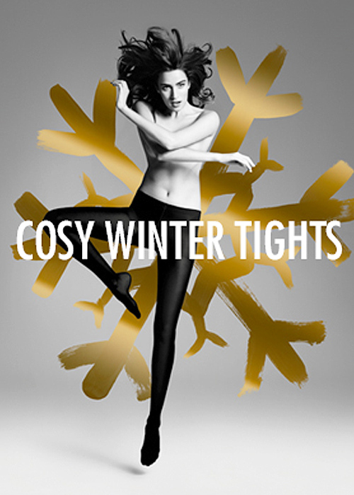 ITEM m6 Cosy Winter Tights Black