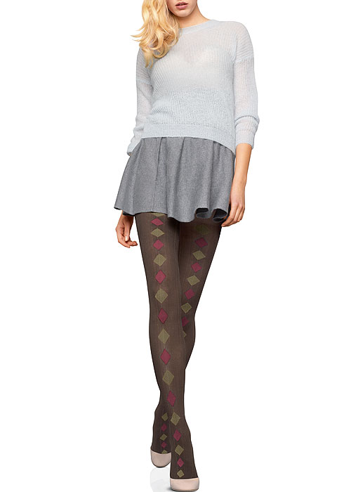 Le Bourget Argylle Opaque Tights