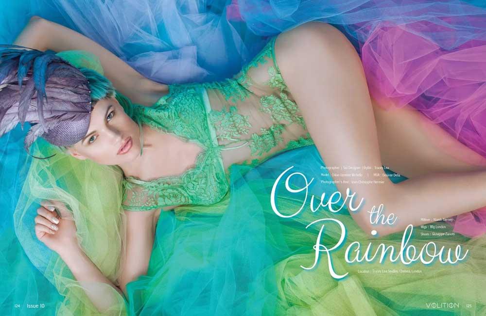 Chloe Jasmine lingerie feature for Volition magazine. Source: Volition