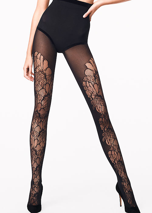 Wolford Blossom Lace Tights