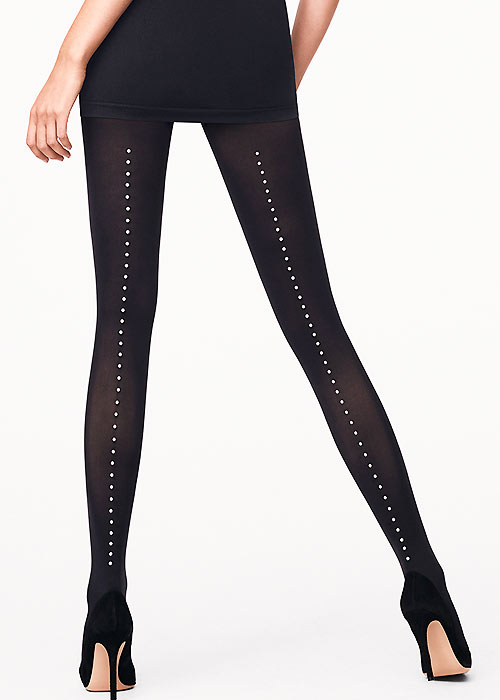 Wolford Pearl Seamed Tights