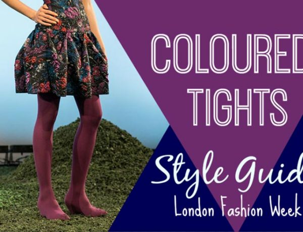A Coloured Tights Style Guide As Seen On London Fashion Week Small