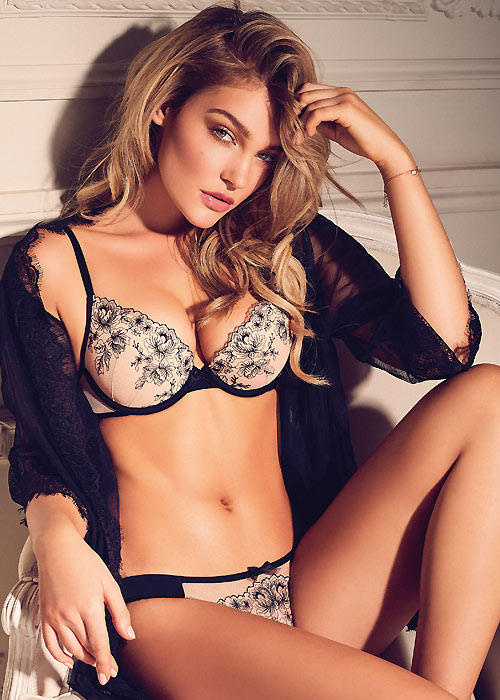 Gossard Carmen Embroidered Bra & Brief