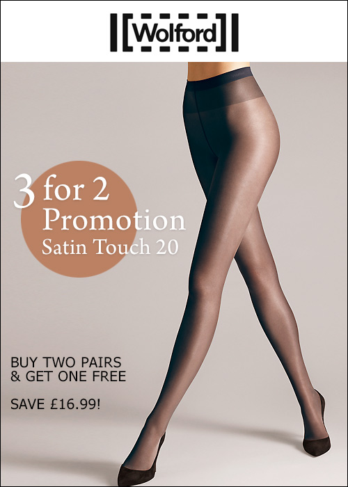 Wolford Satin Touch 20 Tights 3x2