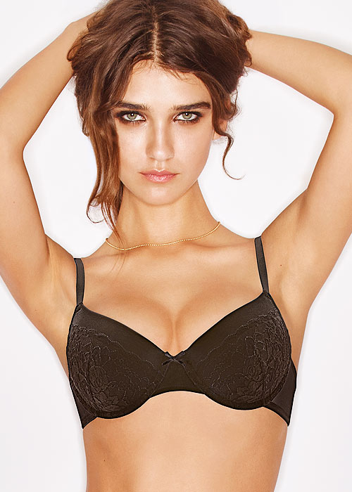 Wonderbra T-Shirt Bra 2 Pair Pack black