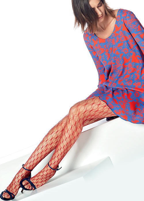 Oroblu Knot Fishnet Tights
