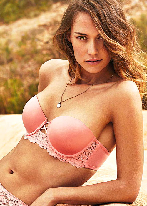 Promise Luxury La Traviata Push Up Balconette Bra