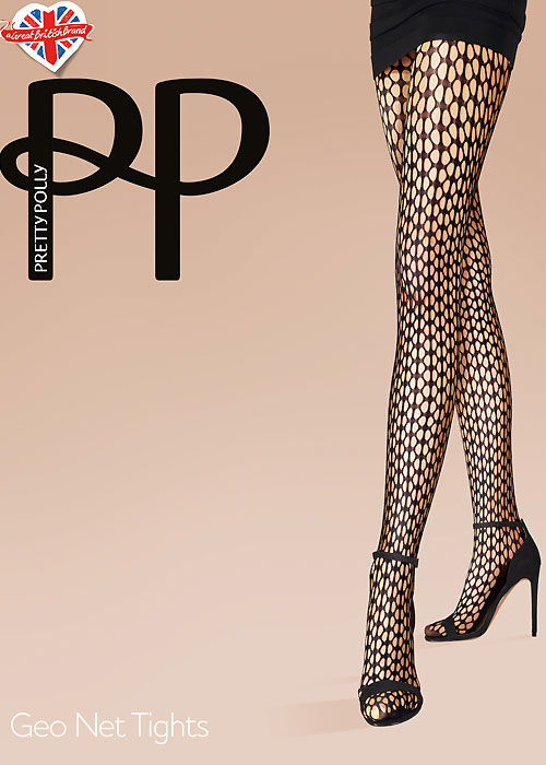 Pretty Polly Geo Net Tights