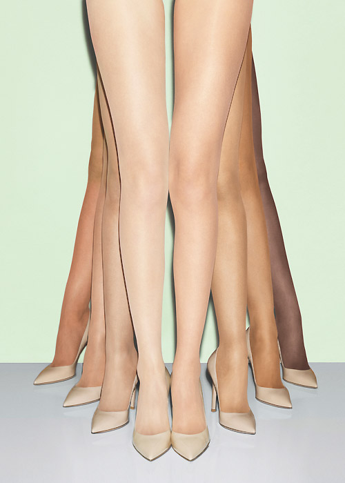 Fogal All Nude 10 Denier Tights collection