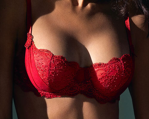 Aubade A L'Amour Red Half Cup Bra