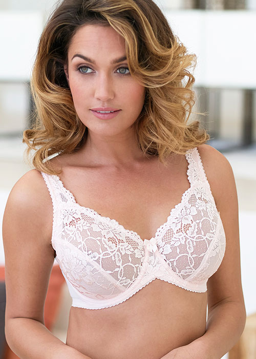 Charnos Rosalind Lace Bra for fuller cups