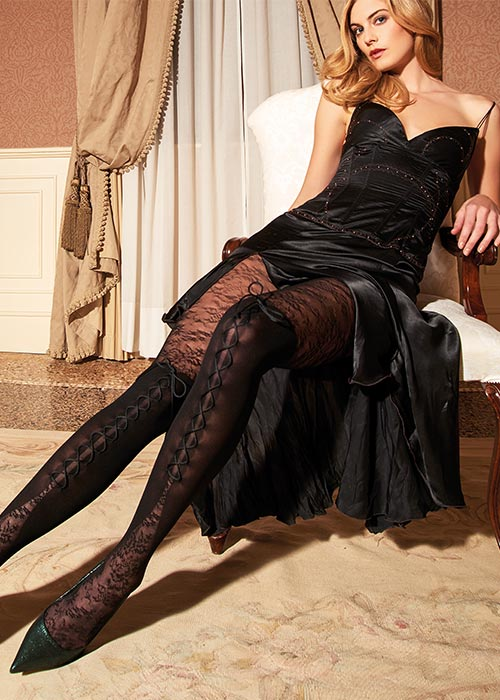 Trasparence Orione Lace Tights