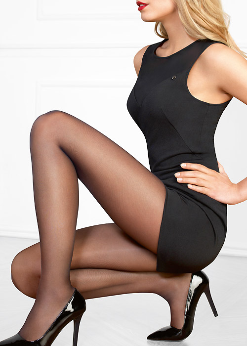 Lovely 20 denier tights by Le Bourget hosiery