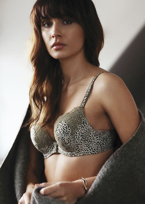 LingaDore Animal-printed bra