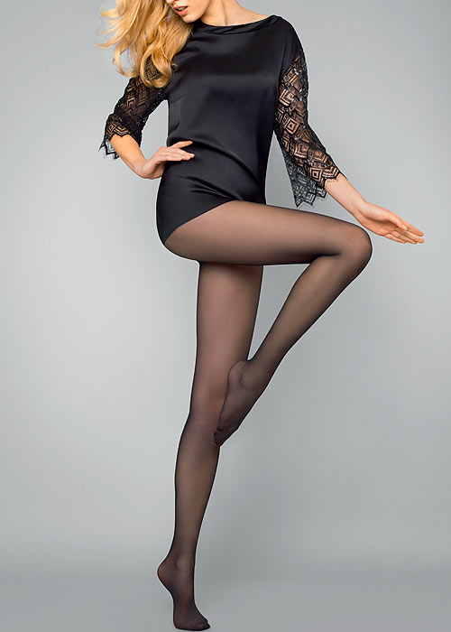 Le Bourget Luxury Semi-Opaque Tights