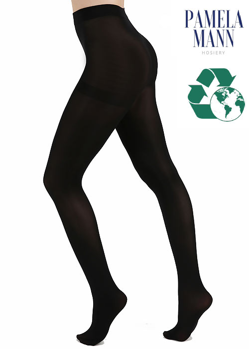 Recycled tights by Pamela Mann