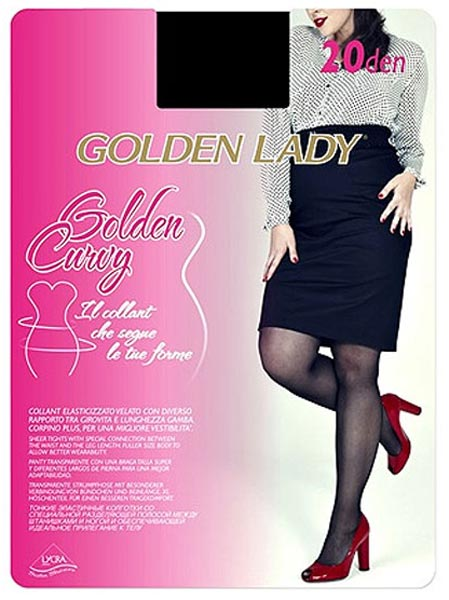 Golden Lady Plus Size Sheer Tights