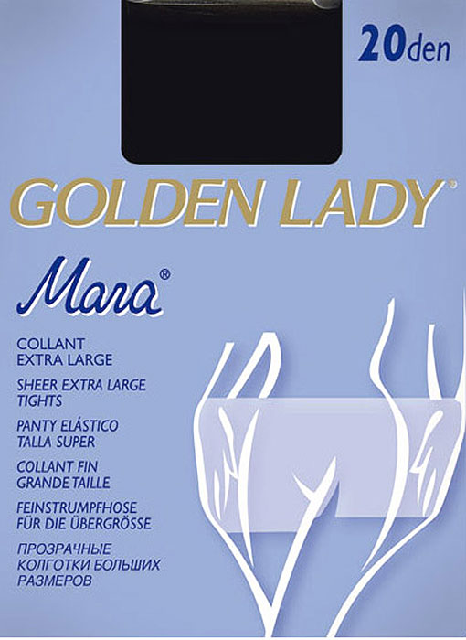 Golden Lady Mara's plus size tights