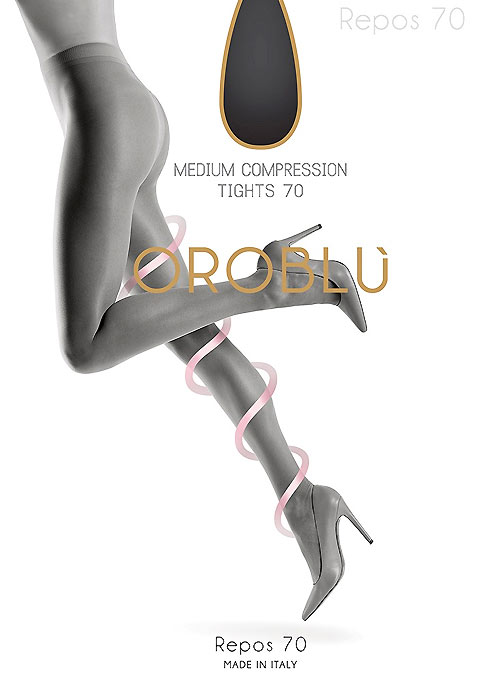 Best-selling Oroblu compression tights with leg support