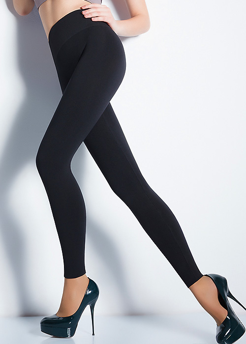 Giulia Seamfree Black Leggings