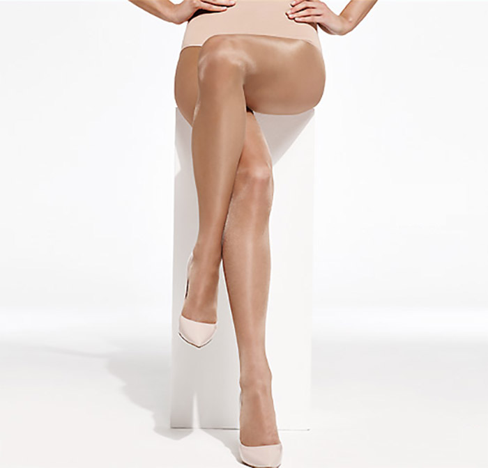 Charnos Sheer Glossy tights nude