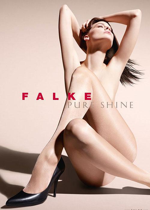 Falke pure shine tights