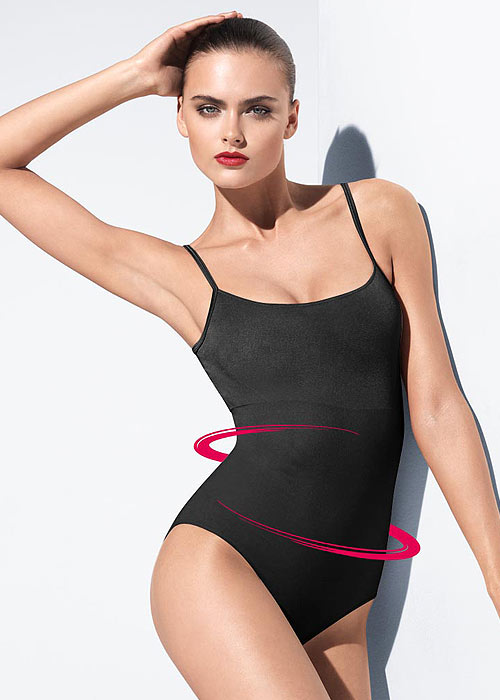 Wolford shaping bodysuit in black