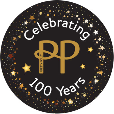 Pretty Polly centenary logo