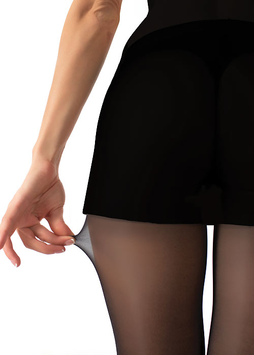 How to put on your tights the right way - sheer tights