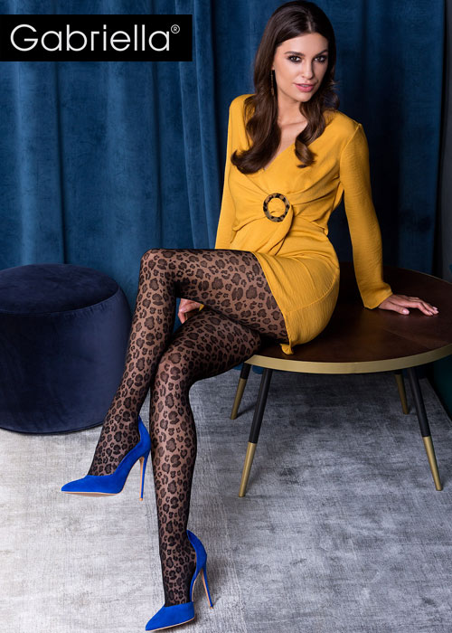 Gabriella animal printed tights