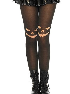 Leg Avenue Jack O Lantern Tights